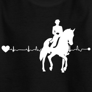 Heartline Dressage - Kids' T-Shirt