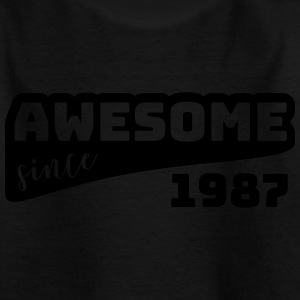 Awesome since 1987 / Birthday-Shirt - Kids' T-Shirt