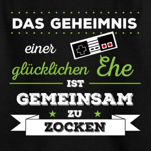 Gamer-Ehepaar - Kinder T-Shirt