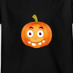 emoji citrouille Happy Thanksgiving t-shirt comique stup - T-shirt Enfant