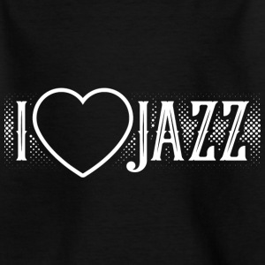 I love Jazz - Kinder T-Shirt