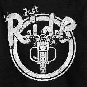 JUST RIDE - LETS GO - Kids' T-Shirt