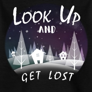 Look up and get lost - Kids' T-Shirt