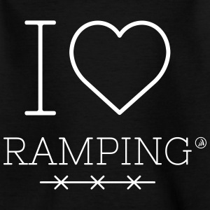 I love Ramping - Kids' T-Shirt