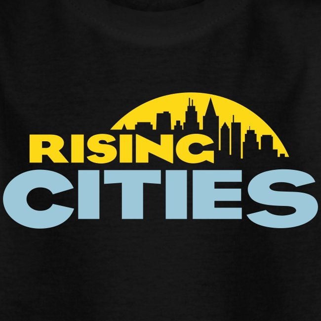 Rising Cities Logo stylized