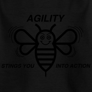 AGILITY STING DU IN ACTION - T-shirt barn