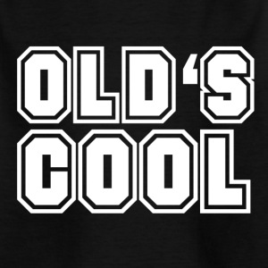old is cool - Kinderen T-shirt