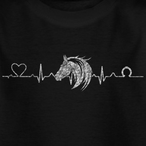 Heartline Pferd - Kinder T-Shirt