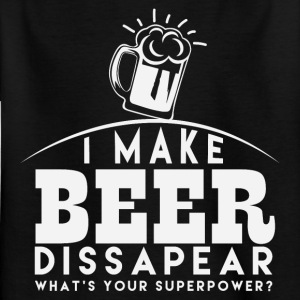 I let beer disappear - Kids' T-Shirt