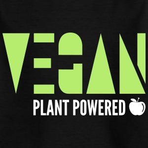 Vegan - Plant Powered - Kids' T-Shirt