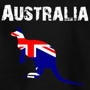 Nation-Design Australië 01 - Kinderen T-shirt
