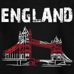 Nation-design England Tower Bridge - Børne-T-shirt