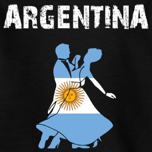 Nation-Design Argentina Tango - Kinderen T-shirt