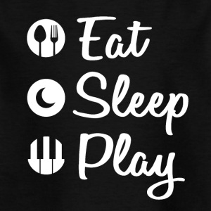 Eat Sleep Piano - Kids' T-Shirt