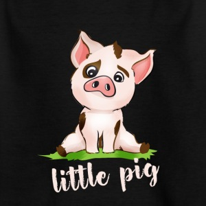 little Pig schwein ferkel film niedlich comic baby - Kinder T-Shirt