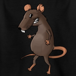 Fiese råtta rodent ohyra rodent mus - T-shirt barn