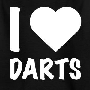 Dart - I Love Darts - Kinder T-Shirt