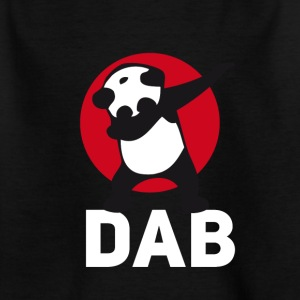 panda dab dabbing touchdown just dab it football r - Kids' T-Shirt