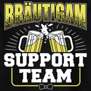 Brudgummen Support Team - T-shirt barn