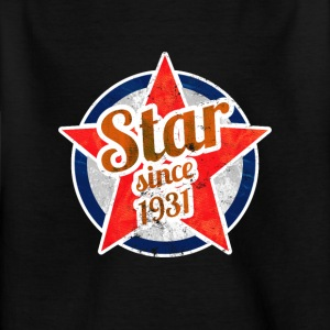 Gift for Stars born in 1931 - Kids' T-Shirt