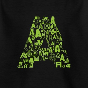 Font Fashion A - Kids' T-Shirt