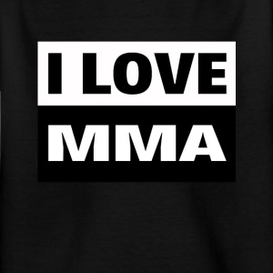 I love MMA, UFC, cage fighting and combat sports - Kids' T-Shirt