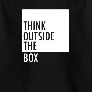 Think outside the box - Kids' T-Shirt
