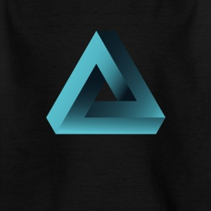 illusion optische Täuschung Pyramide illuminati ne - Kinder T-Shirt
