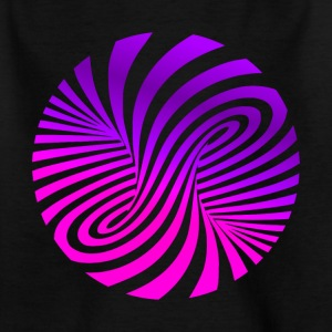 psychedelic illusion Disco 60er tornado - Kinder T-Shirt
