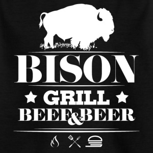Grill · Grill · Bison - T-skjorte for barn