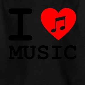i love music v3 - Kinder T-Shirt