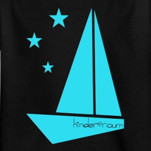 origami boat - Kids' T-Shirt