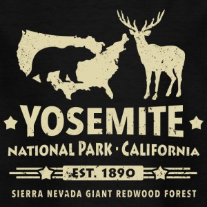 Parc national de Yosemite en Californie Ours Redwood - T-shirt Enfant