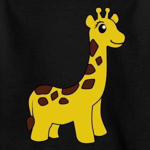 maid giraff - T-skjorte for barn