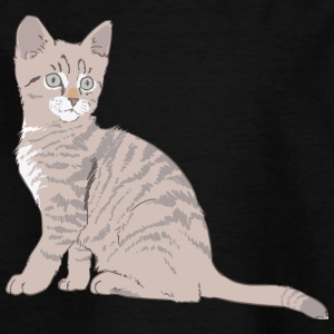 Cat, mitzi, little cat - Kids' T-Shirt