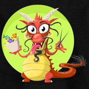 Funny Dragon - Kinderen T-shirt