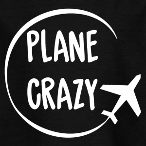 Pilot: Plane Crazy - T-skjorte for barn