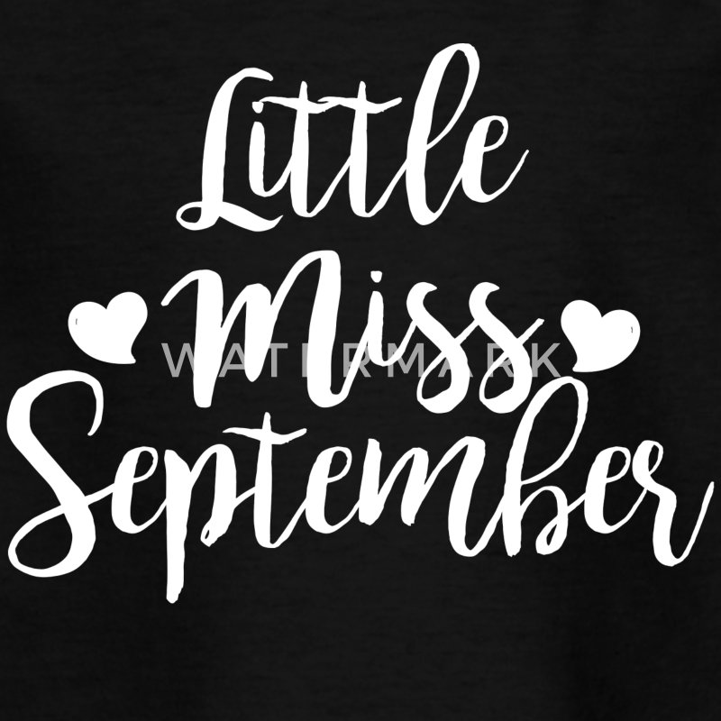 Little miss September - Kinder T-Shirt