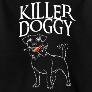 Killer Doggy Unicorn - Unicorn Vit - T-shirt barn