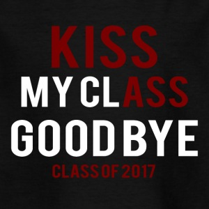High School / Graduation: Kiss Ass - Kus mijn klasse - Kinderen T-shirt