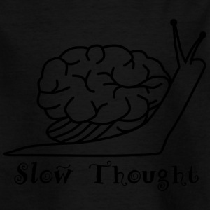 Slow Thought - T-skjorte for barn