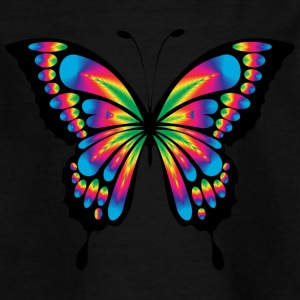 abstracter Schmetterling - Kinder T-Shirt