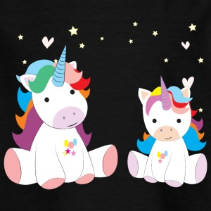 Two sweet unicorns - Kids' T-Shirt