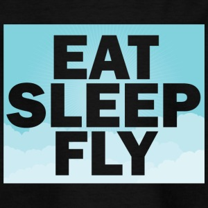 Pilot: Eat, Sleep, Fly, Repeat - T-skjorte for barn