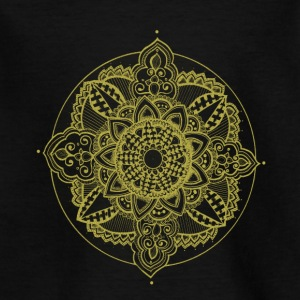 Golden Zendala - Kids' T-Shirt