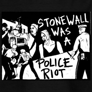 Stonewall was a police riot - T-shirt Enfant