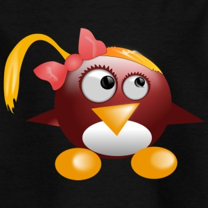Penguin Girl - Kids' T-Shirt