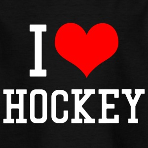 I Love Hockey - Kinder T-Shirt