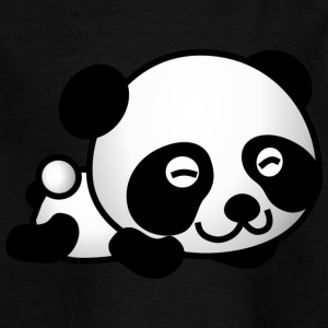 happy Panda - T-skjorte for barn