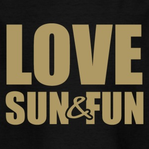 Love, Sun & Fun - T-shirt barn